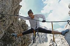 Klettersteig Riva Del Garda : Der künstlersteig klettersteig für kunstliebhaber