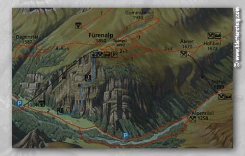 Klettersteig Fürenalp : Fuerenalp